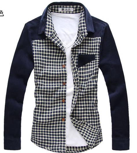 2013春秋装男士正品杰克长袖衬衫琼斯外套韩版GXG衬衣潮卡宾男装 价格:89.60