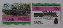 图瓦卢1985年火车百年纪念2枚新 价格:3.50