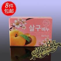 韩国进口正品无穷花自然美人黄杏香皂洗脸沐浴皂 8块包邮 价格:5.50
