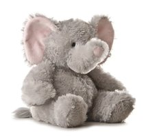 Aurora Plush 12 inches Elephant Tubbie Wubbie (Light Grey) 价格:225.20