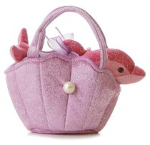 Aurora Plush Dolphin Purse FancyPal 极光毛绒海豚钱包FancyPal 价格:235.88
