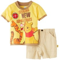 Disney Baby-Boys Infant 2 Piece Seeking New Adventures Pooh 价格:512.00