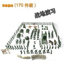 男孩玩具 美国军事基地模型套装 军人/军队 兵人模型士兵操练 价格:19.80