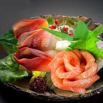 【新品包邮】超人气挪威三文鱼 加拿大北极贝 经典刺身套餐组合 价格:99.00