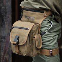 牧之逸腰包 新款腿包 休闲帆布包 装备包 户外运动包 潮包小包 价格:78.00