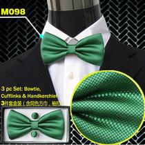 2013新款 男士领结 正装商务结婚领结领带真丝30款实拍墨绿色领带 价格:20.00