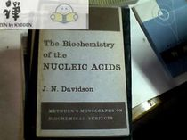 The Biochemistry of the NUCLEIC ACIDS---核酸的生物化学(yL 价格:79.00