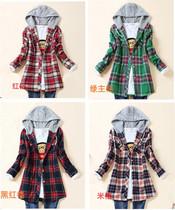 2013少女女装春秋装女孩14 15 16 17 18 19 岁衬衫女生新款外套 价格:79.00