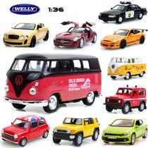 威利 1:36 回力开门 合金汽车模型玩具小车 路虎宾利奔驰 4款包邮 价格:25.00