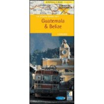 Rough Guide Guatemala & Belize Country Map /Roug 价格:33.60