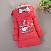 反季童装儿童羽绒服女童羽绒服正品中长款小童羽绒服宝宝羽绒服 价格:98.00