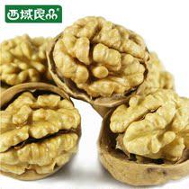 预售西域良品阿克苏大纸皮核桃一级 新疆特产核桃 非薄皮核桃500g 价格:38.00