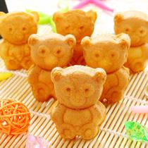 宝宝零食 星芙叮咚熊蛋糕 松软 小熊蛋糕饼干 儿童最爱 婴儿零食 价格:16.80