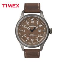 Timex新款日历 户外运动男士手表军表 潮牌真皮带男表 夜光防水表 价格:800.80