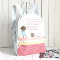 包邮帆布包包女包双肩包2013新款女包韩版学生书包背包学院风潮包 价格:42.90