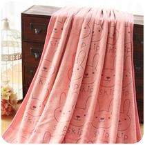 默默爱♥韩版粉嫩卡通可爱小动物浴巾超吸水透气 加大厚浴衣/浴袍 价格:18.80