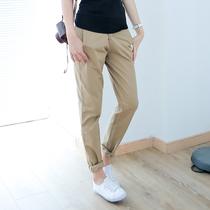 2013秋装新款韩版女装时尚修身显瘦百搭休闲裤哈伦裤长裤女AE963 价格:65.00