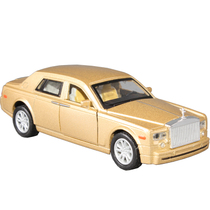万宝劳斯莱斯幻影合金车模合金汽车模型玩具车开门声光版儿童玩具 价格:36.00
