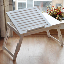 【VIP特惠】包邮 楠竹散热 床上可折叠升降懒人实木电脑桌 百松居 价格:45.90