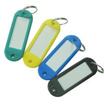 特价渡美 钥匙牌 彩色塑料 50个/桶 钥匙扣 钥匙环 可记录 价格:13.00
