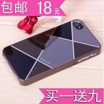 苹果4手机壳新款iphone4s手机壳包邮苹果4s情侣手机套壳潮保护套 价格:18.00