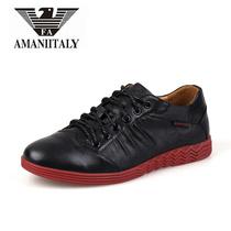 正品意大利阿玛尼男鞋2013新款运动休闲板鞋子韩版低帮鞋子 价格:360.00