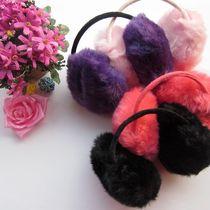 纯色冬季保暖厚实仿兔毛耳罩 男女通用耳套 价格:4.80
