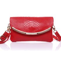 2013新款女包牛皮女士手拿包韩版正品女手包手抓包单肩斜跨包特价 价格:65.00