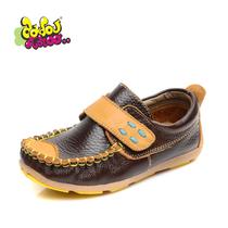 DDTT儿童豆豆鞋男童韩版真皮鞋单鞋2013新款宝宝牛皮 英伦皮鞋 价格:88.00