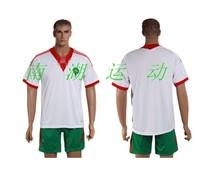 Morocco摩洛哥主场白色原版印号足球服 13-14新款 价格:55.00