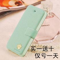 正品皇冠奢华iphone5翻盖手机壳iphone4/4s皮套苹果5保护套外壳潮 价格:28.00