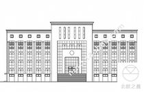 工商局办公楼建筑CAD设计施工图纸纸 价格:11.60