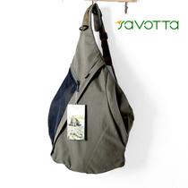 芬兰品牌 户外水囊形状帆布胸包 很潮肩包男士休闲包斜挎包 价格:75.00