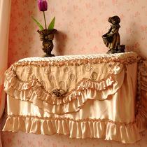 正品猛士美居 水晶丽人挂机空调罩挂式防尘套1/1.5/2匹P绸缎定做 价格:79.20
