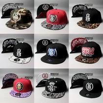 美国Rebel8涂鸦刺绣嘻哈街舞帽潮流男女情侣滑板平沿檐帽棒球帽子 价格:37.90