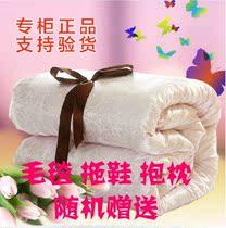【天天特价】全棉正品蚕丝被/被芯/冬被/子母被/秋冬被/特价包邮 价格:237.60