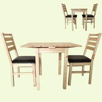 北欧宜家风格折叠餐桌一桌二椅小户型折叠伸缩推拉饭桌学习咖啡桌 价格:580.00