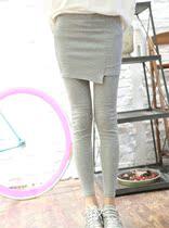 【蘑菇街】山口富 特别推荐 韩范不规则打底裤裙裤 九分裤 价格:39.00