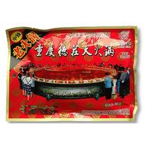 重庆火锅底料德庄中辣老火锅300g四川麻辣烫红油 价格:8.50