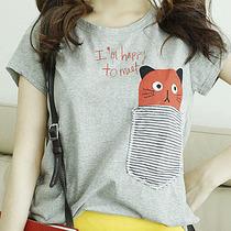 2013新款夏装韩版短袖潮女装上衣服中学生大码显瘦宽松t恤女包邮 价格:39.00