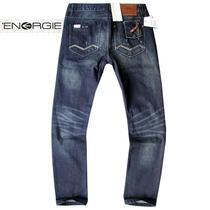 energie欧美大牌原单牛仔裤男直筒水洗磨白个性牛仔裤长裤男 潮 价格:147.60