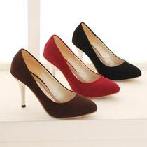 定做细跟性感40-47大码女鞋伪娘CDTS男士变装反串表演细高跟鞋 价格:35.00