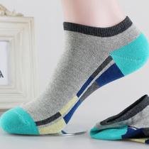 浪莎袜子男短袜夏季男袜 船袜男 男士运动低帮袜子 夏薄厂家批发 价格:5.60