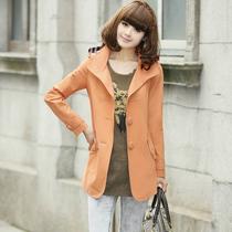 2013新款春秋装大码女式短款风衣女款显瘦修身时尚风衣外套 价格:189.00