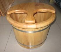 金杰小王子足浴盆木桶洗脚桶 橡木洗脚盆 泡脚桶30高带盖足浴桶 价格:249.00