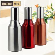 维艾高档欧式防尘油壶酱油瓶 不锈钢防漏创意厨房餐饮用具品 价格:29.40