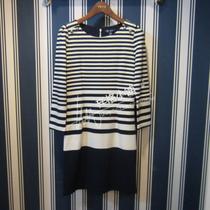 专柜正品原单PRICH13秋款显瘦条纹连衣裙PROM33701C OM33701C包邮 价格:399.00