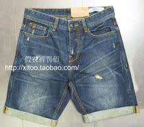 专柜代购/jack jones杰克琼斯/时尚牛仔短裤/212235013 价格:109.00