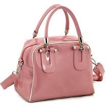 女包2013春夏新款韩版漆皮包包手提斜挎多用女包高档漆皮包 价格:39.00