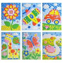 黑妞宝贝3d立体粘贴画 eva儿童贴画贴纸益智玩具 手工制作材料 价格:9.90